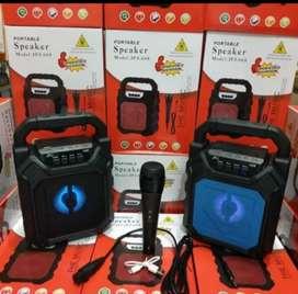 Speaker bluetooth + plus mic karaoke YD688