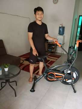 Sepeda fitnes platinum free ongkir bisa bayar dirumah