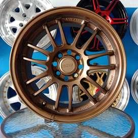 RE30RAYS R15x6.5/pcd 4x100/114.3 Ayla Agya Brio Vios Avanza Xenia