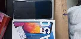 Samsung Galaxy A50 6gb 64gb 2month old sky color