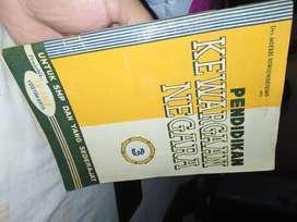 Buku Pelajaran Kewarganegaraan jadul 1960an