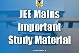 Lecture videos of JEE MAIN (Physics,Chemistry and Maths)