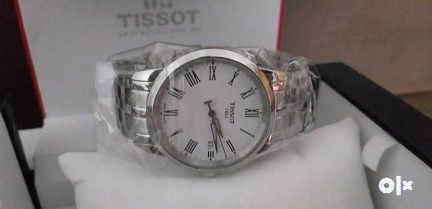 BRAND NEW Tissot Classic Dream Analog White Dial Men's Watch 0