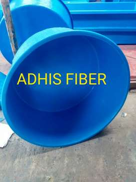 Bak Fiber Bulat Diameter 100cm x Tinggi 50cm