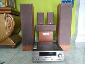 Yamaha Home Theater Audio Set