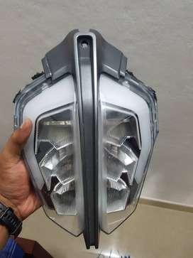 KTM Duke 390 2017 led headlight