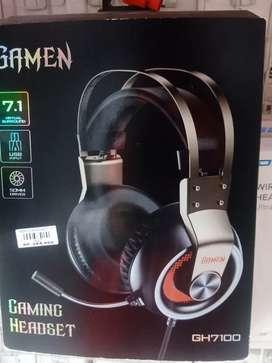 Headset gaming Gamen GH1700