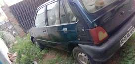 Maruti 800 for exchange with any 2 wheeler