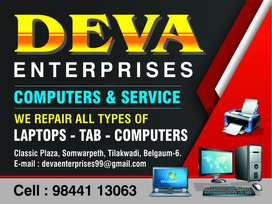 We repair all types of laptop and desktop chip