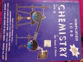 CHEMISTRY BOOK, CLASS 9 ICSE