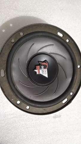 Denon speaker 6 in, 160 Watts RMS, full ori, mulus, Made in Japan