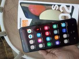 Samsung A02S Ram 4GB/64GB kondisi masih garansi baru dipakek 1 bulan