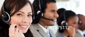 BPO telecalling job for male and female
