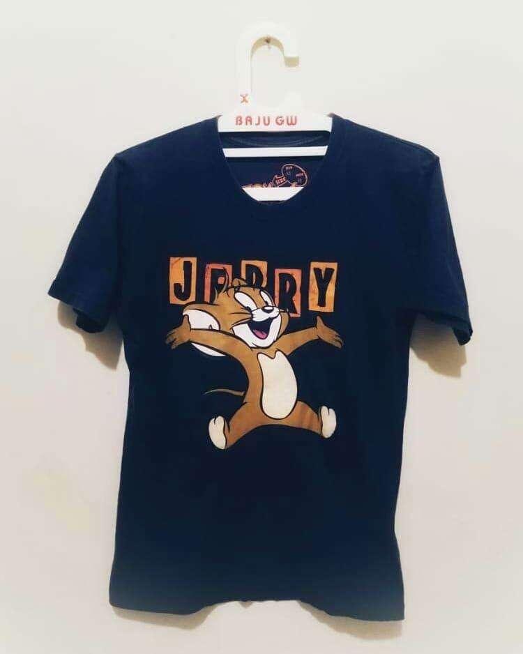 kaos kartun tom & jerry 0