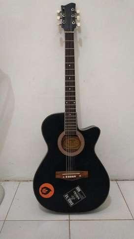 Gitar Akustik Second
