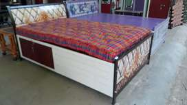 Premium quality MS Steel Box Bed