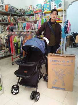 Stroller BabyDoes Nexuz R+/ Stroller reversible handle / 2 arah/ jogja