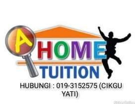 Tuition teacher available at home