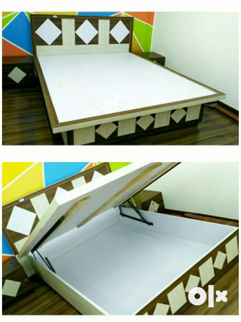 Bed, wardrobe, dressing table (combo offer) 0