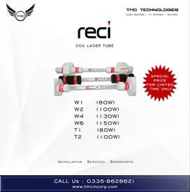 Reci Laser Tube Co2 For Sale