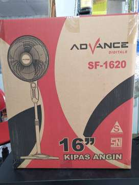 kipas angin berdiri/ stand fan advance 16inc SF 1620 (jantung acc)