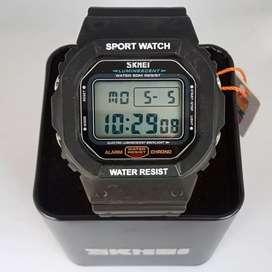 Skmei 1134 original waterresist jam tangan malang free cod