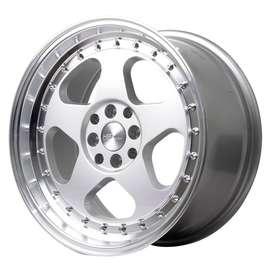 Velg Nissan Livina Ring 17x75-85 Silver Polish