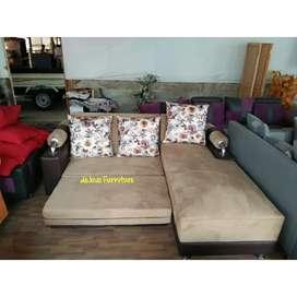 Sofa santai L recleaning