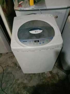 Jual cepat mesin cuci LG otomatis masih bawaan pabrik+garansi 1 bln