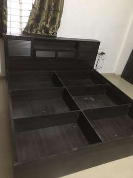 Double Bed (6ft by 7ft) - 1 year use - without bed sheet