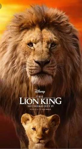 Film DVD Lion King 2020