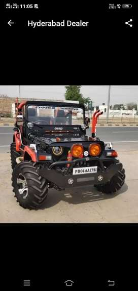 All Jeep modified available
