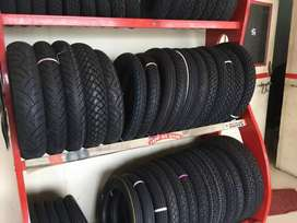 Bike tyres for all two wheeler
