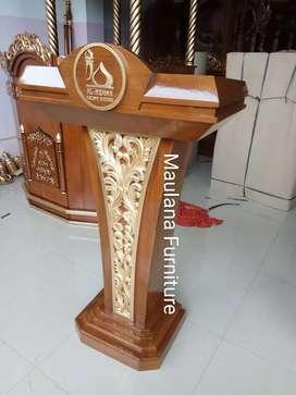 Mimbar podium masjid untuk dakwah