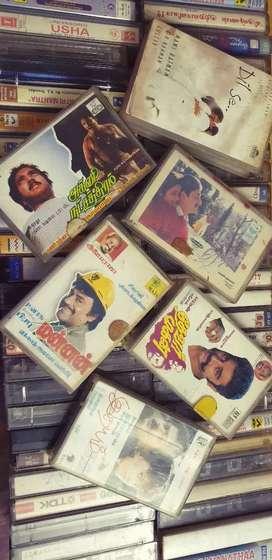 Vintage cassette collections