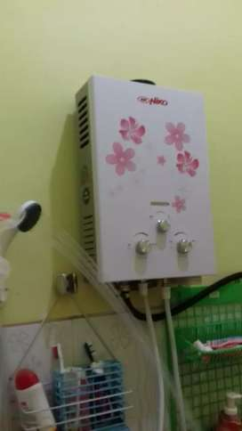 Water Heater Gas - Mandi Air Hangat Mandiri