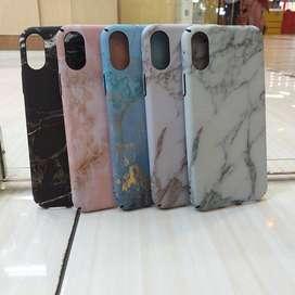 Casing Hardcase Batu Marble Iphone X/XS Berwarna Cantik dan Mewah Case