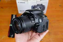 Canon 600d lensa kit 18-55mm cd666