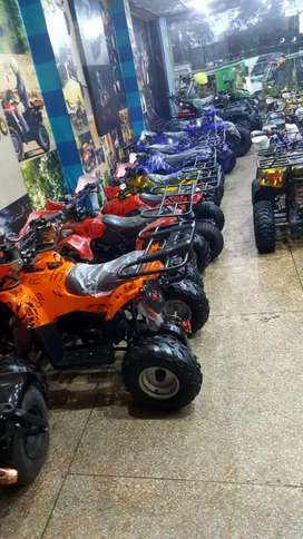 1O7=cc 1O8 CC 11O-cc Tube less tier QUAD ATV bike for sell deliver Pak