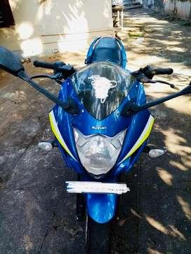 Gixxer SF blue , mint condition , no urgent sale