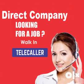 Direct Company Urgently hiring telecaller female male for Bangalore