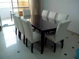 New Modern Dining Table 8 Seater Full cushioned Master Molty 50% off.