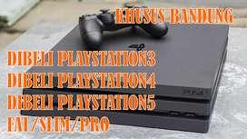 LANGSUNG DIBAYAR! DICARI KHUSUS PS3/PS4/PS5 BEKAS