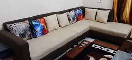 6 seater L-shape sofa