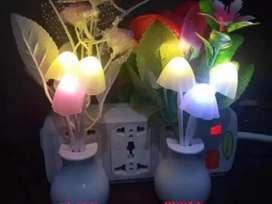 PROMO - Lampu Tidur Jamur Avatar Sensor Cahaya