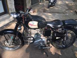 Royal enfield Classic 500 with digital meter.