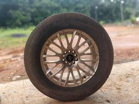 17 inch alloy +tyre for sale