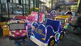 mainan anak kereta mini panggung odong odong full fiber LENGKAP
