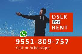 DSLR Camera RENT - Chennai only