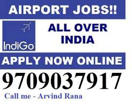 airport full time job Counter/Cabin Crew/ Lobby staff/ ground staff po
